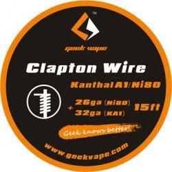 CLAPTON KANTHAL A1/NI80 26GA(NI)+32GA