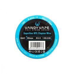 VANDY VAPE SUPERFINE MTL KANTHAL A1 CLAPTON 30GA+38GA