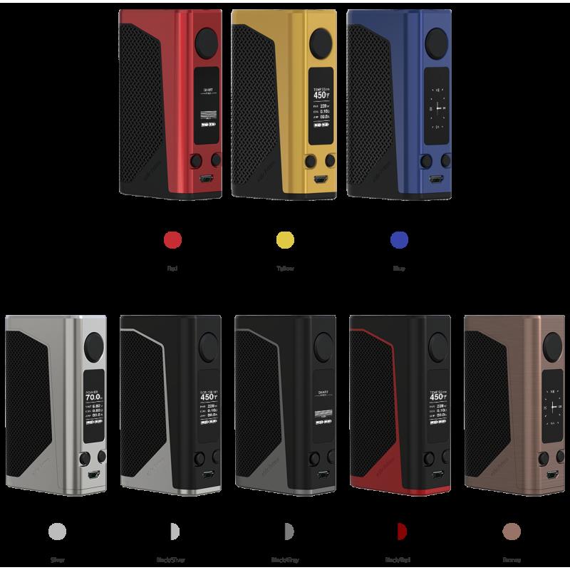 svapo- JOYETECH Evic Primo 2.0 228W- blu-Box - Batterie-SvapoCafe