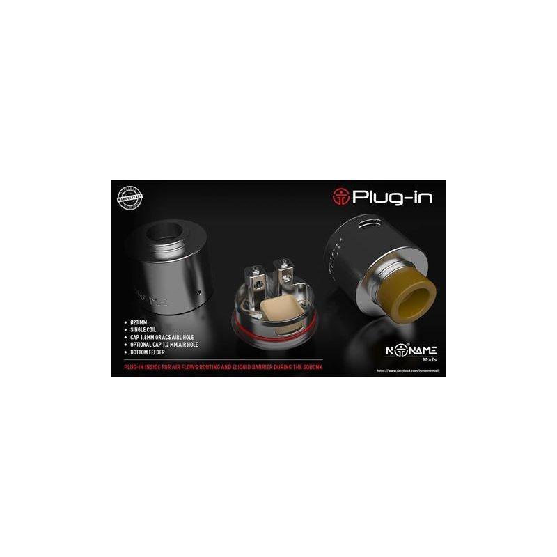 svapo-Plug In 20 mm BF - NoName-Rigenerabili RBA-SvapoCafe