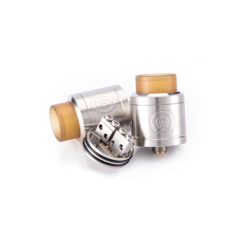 svapo-Vaporous RDA BF Silver-Rigenerabili RBA-SvapoCafe