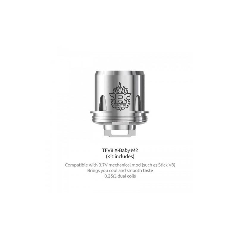 svapo-COIL TFV8 X-Baby M2-Smok-SvapoCafe