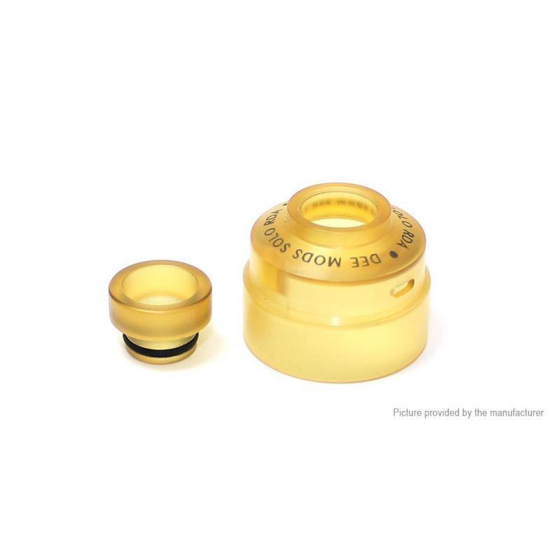 svapo-PEI Cap for Solo RDA-Drip Tips-SvapoCafe