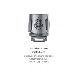 Coil TFV8 X-baby X4-0,13ohm