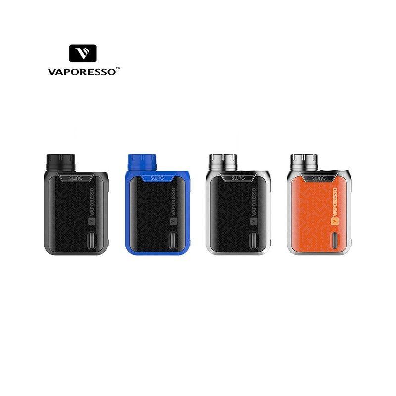 svapo-Vaporesso Swag Box SILVER-Box - Batterie-SvapoCafe