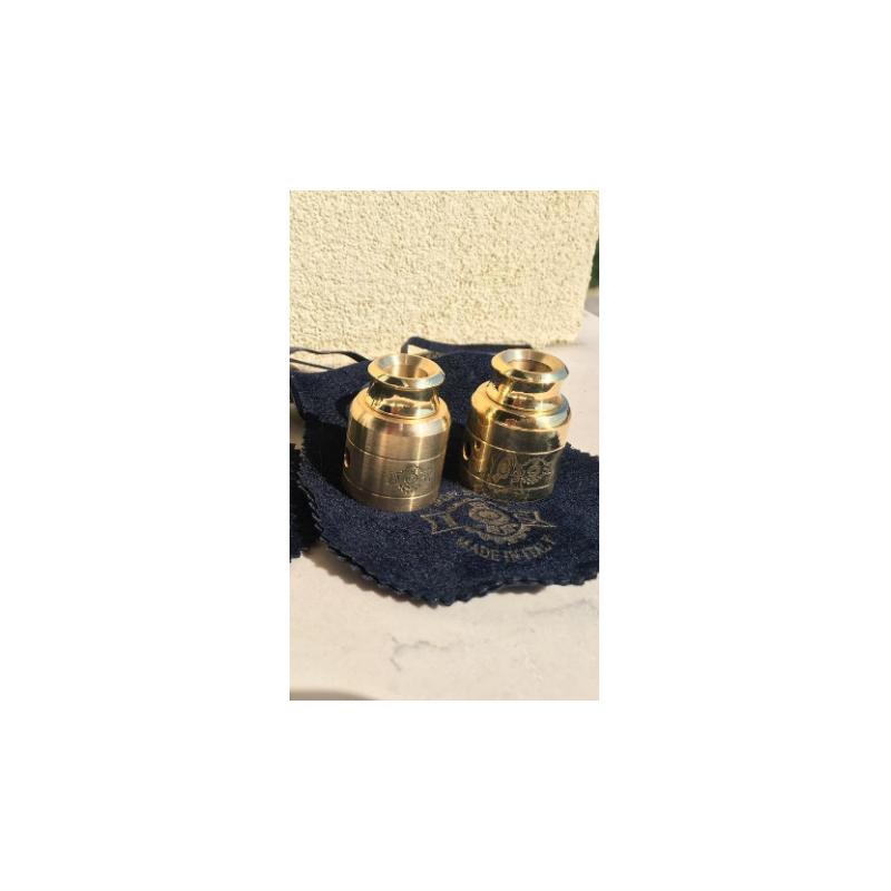 svapo-Iron Steam - Cap and Drip Brass-Accessori-SvapoCafe