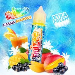 E-Liquid France Fruizee Cassis Mangue 20ml - Shot
