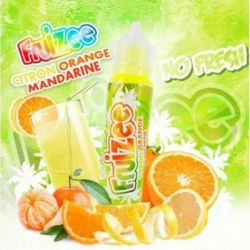 E-Liquid France Fruizee Citron Orange Mandarine NoFresh 20ml - Shot