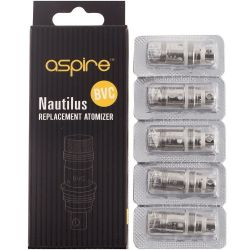 5x coil 1.5ohm Aspire Nautilus