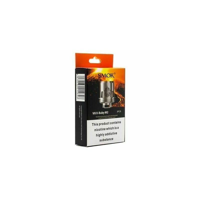 svapo-1x  coil 0.25ohm Smok TFV8 X Baby M2-Home-SvapoCafe