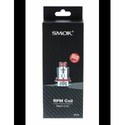 5x coil 0.4ohm Smok RPM40 Mesh