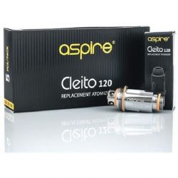 5x coil 0.16ohm Aspire Cleito 120