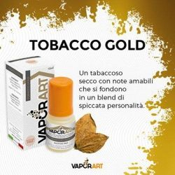 Vaporart Tobacco Gold 10ml - 0mg