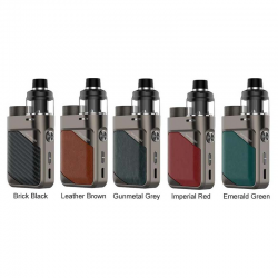 Vaporesso Swag PX80 Pod Mod - Leather Brown