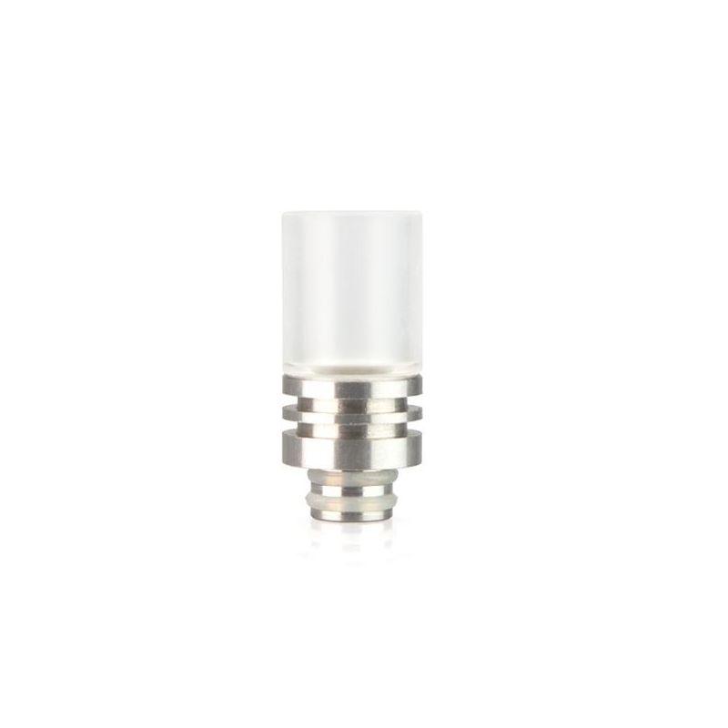 svapo-Drip Tip acrylic corpo acciaio 510-Accessori-SvapoCafe
